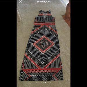 Nine West Maxi Dress Sz 6
